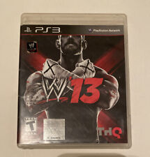 WWE '13 (Sony Playstation 3, 2012) PS3 Wrestling Complete ...Ps3 Games List 2012