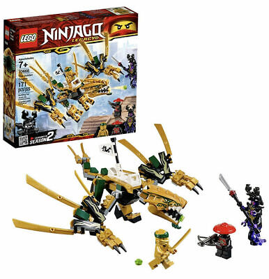 Lego Ninjago Legacy The Golden Dragon 70666 ~ Brand NEW Complete Set