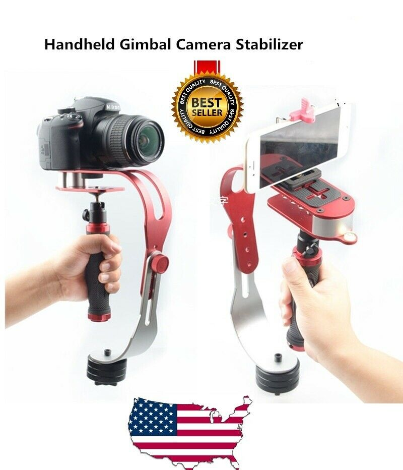 Ivation Durable Pro 1//4 Hot Shoe Mount with Universal Tripod Stand Mount Holder for Attaching Smartphones to Your DSLR Cameras