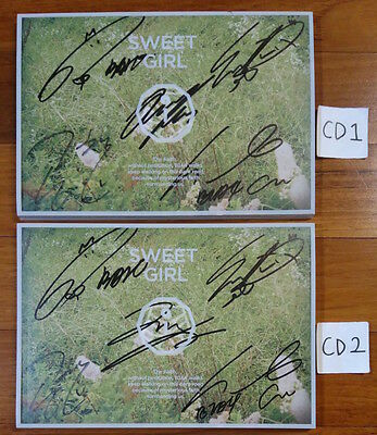 B1A4 autographed Sweet Girl PROMO CD signed 6th Mini Album