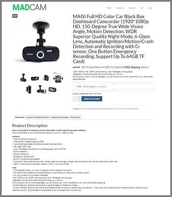Usa - Auto Dashcam Websitefree Domainmake100 Guaranteed Or Pay Nothing