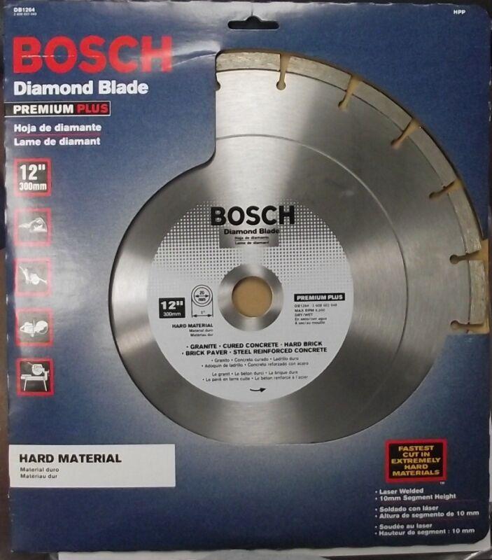 "Bosch DB1264 Premium Plus 12/"" Dry or Wet Cut Segmented Diamond Saw Blade"