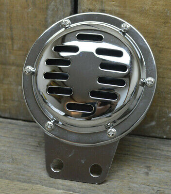 VINTAGE STYLE COMPACT HORN CAR TRUCK MOTORCYCLE HOT ROD BOBBER RAT CHOPPER AUTO for sale  Shipping to Canada