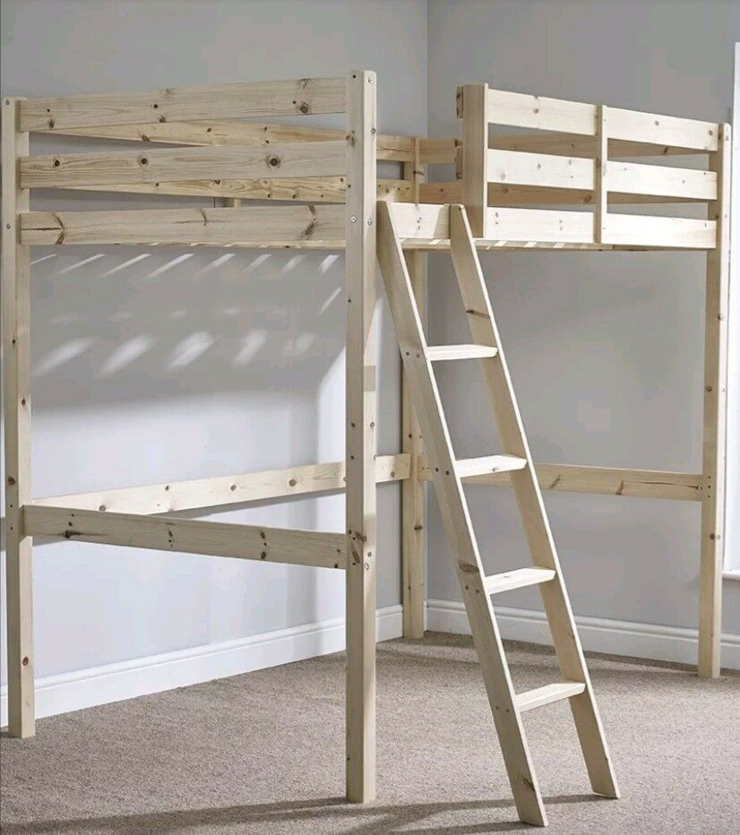 Double High Sleeper Loft Bed   in Colchester, Essex   Gumtree