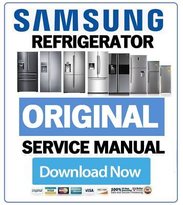 Samsung Refrigerator Service Manual and Repair Guide & Troubleshooting