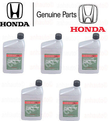 5 Quarts Pack GENUINE HONDA ATF Automatic Transmission oil CVT Fluid for Honda