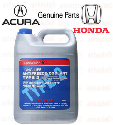 1999 Acura Slx Coolant (Genuine Honda Acura Long Life Antifreeze / Engine Coolant OL9999011 Blue)