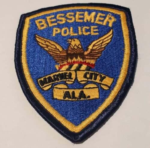 Bessemer Alabama AL US Police Patch Vintage