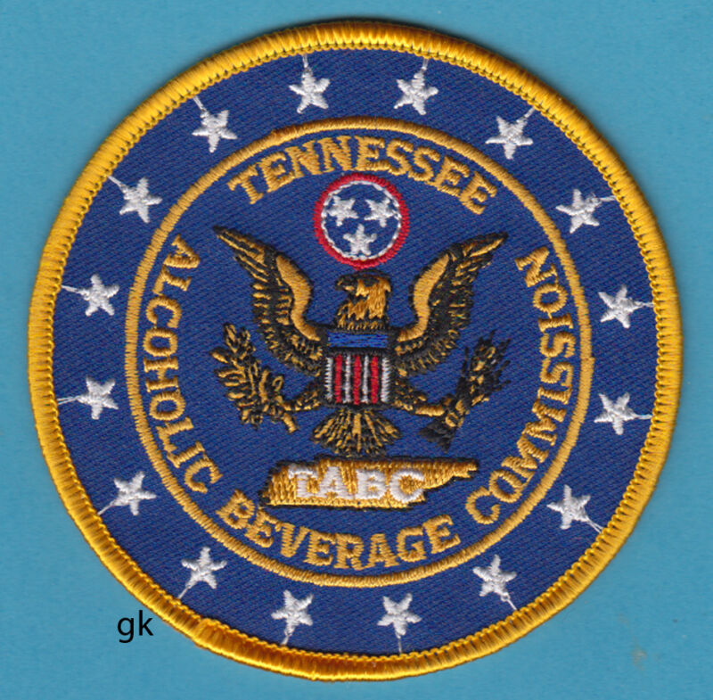 TENNESSEE ALCOHOLIC BEVERAGE COMMISSION  ABC SHOULDER  PATCH
