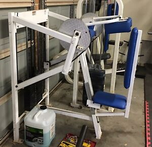 Commercial Tricep Machine, Skull Crusher Bundanoon Bowral Area Preview