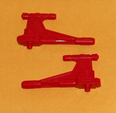 original G1 Transformers QUICKSWITCH R+L GUN weapons parts lot