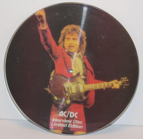 1982 AC/DC INTERVIEW DISC Limited Edition LP #1535