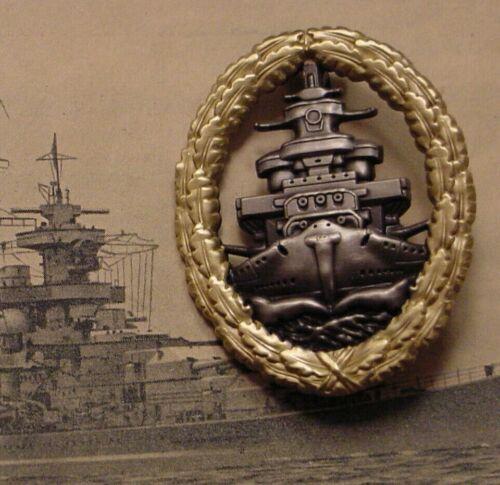 GERMAN NAVY HIGH-SEAS FLEET BADGE - KRIEGSMARINE - PIN-ON
