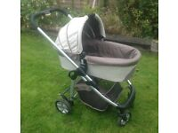 Pram and Pushchair travel system - iCandy Cherry - Fudge