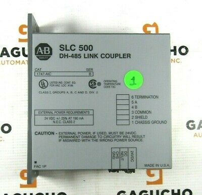 Allen Bradley 1747-aic B Slc 500 Programmable Controller Mounting
