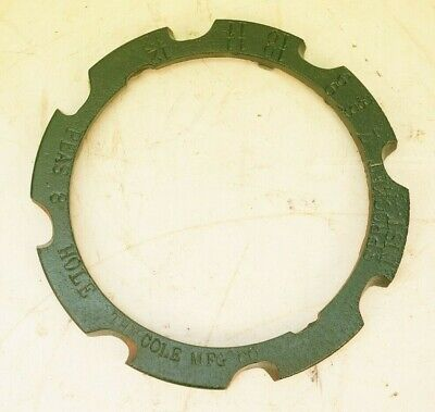 Peas 8 Cell Corn Seed Plate For Vintage Charlotte Nc Corn Cotton 1 Row Planter