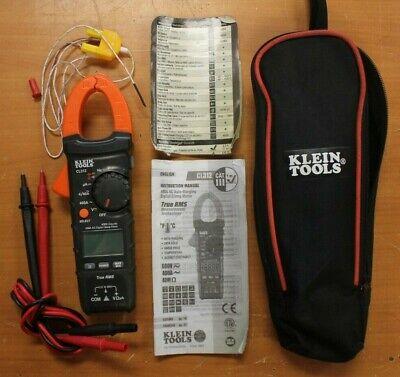 Klein Tools Cl312 400a Ac Digital Clamp Meter