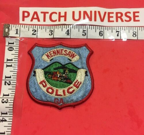 KENNESAW GA  POLICE SHOULDER  PATCH R068