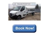CAR TRANSPORTER HIRE £105 PER DAY 250 MILES INC AND INSURANCE DRIVE ON A STANDARD LICENSE
