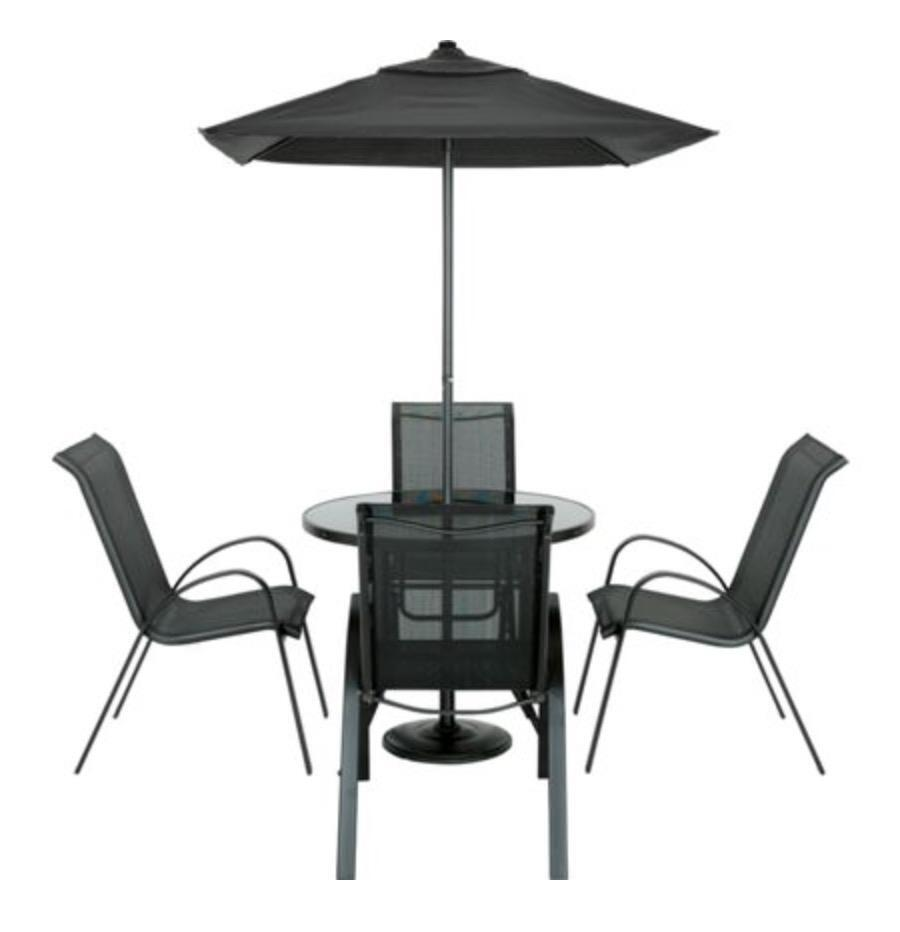 Andorra 4 Seater Garden Furniture Set In Barnet London