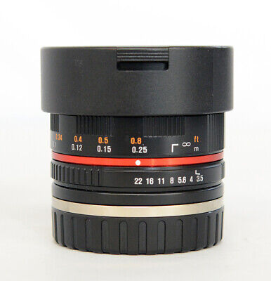 Samyang 7.5mm f/3.5 UMC Lens For Canon (Black)