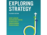 Exploring Strategy: Text and Cases by Richard Whittington, Gerry Johnson ELEVENTH EDITION