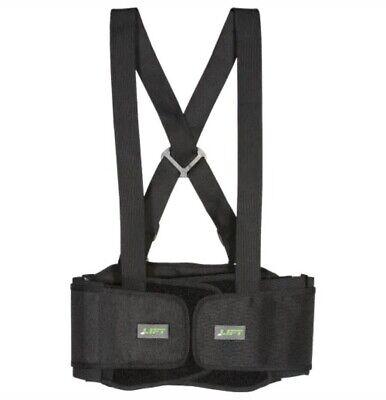 Brand New Lift Safety Stretch Belt Black Medium Safety Elastic Back Support