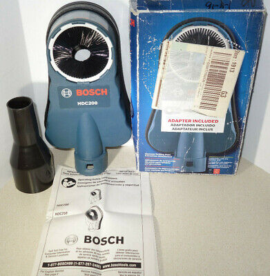 Bosch Hdc200 Hammer Drilling Drill Dust Extraction Collection Attachment Sds
