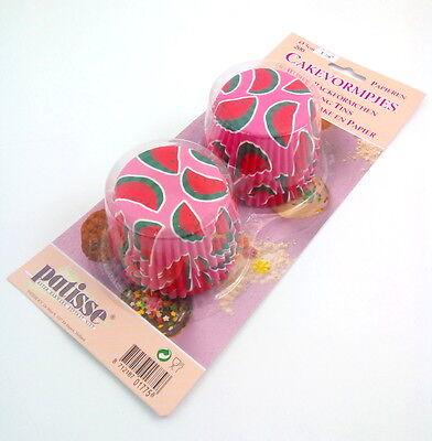 200 Muffinformen -  Melone - Ø 5 cm 01775 (Backen-cup)