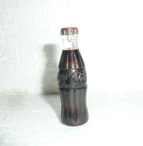 Vintage Miniature Coke Coca Cola Bottle Cigarette Lighter Working Lights S-68