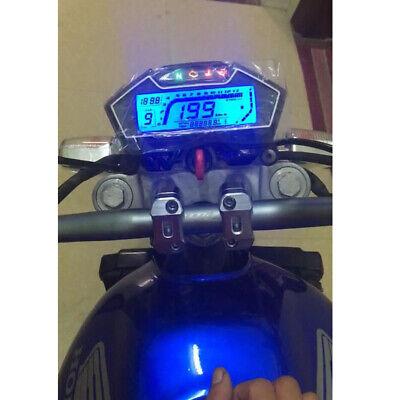 UNIVERSAL LCD MOTORCYCLE SPEEDOMETER ODOMETER RPM SPEED FUEL LEVEL GAU