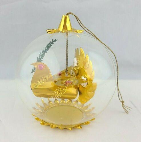 Vintage Resl Lenz Dove Christmas Ornament