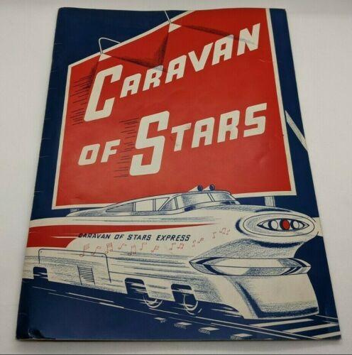 Dick Clark 1963 Caravan of Stars Tour Program Book The Supremes / The Shirelles