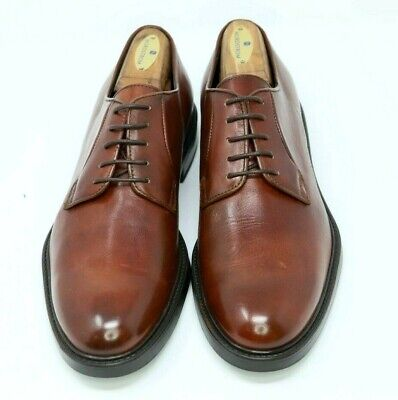 """To Boot """"Fiano"""" Cognac Plain Toe Derby 10D $395 BRAND NEW! NR!"""