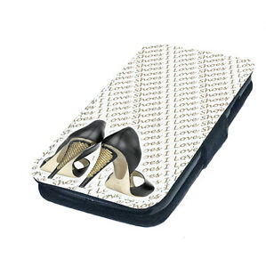 High-Heels-Printed-Faux-Leather-Flip-Phone-Cover-Case