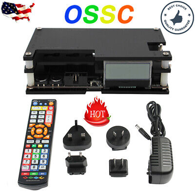 USA OSSC Open Source Scan Converter Kit 1.6 for Retro Gaming Old Game Console