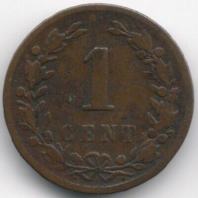 Netherlands : 1 Cent 1878