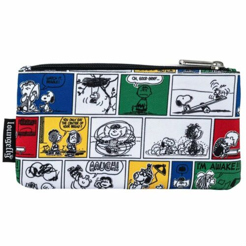 Loungefly Peanuts Zip Pouch Cosmetic/Coin Bag/Case Soopy, Charlie Brown New!