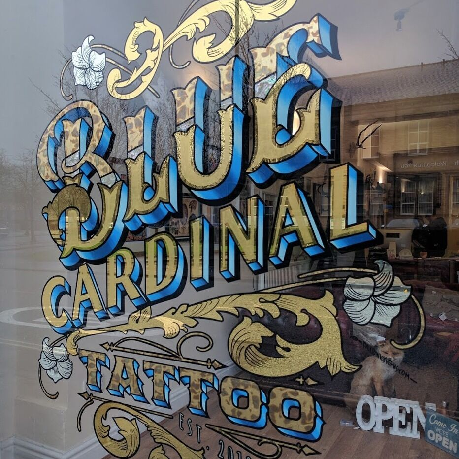 old style sign writing companies