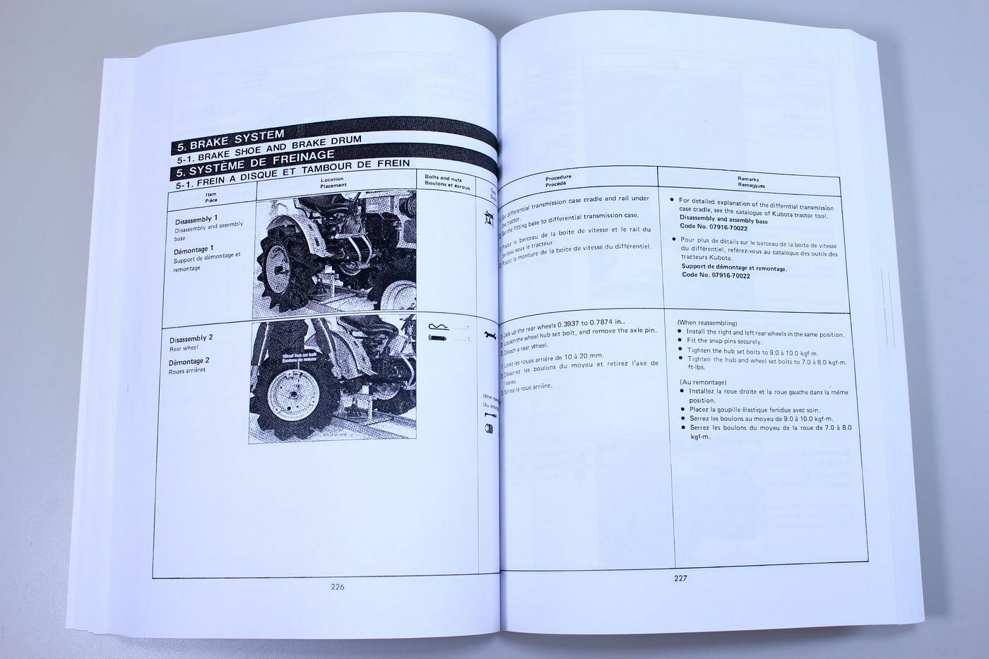 7 of 12 Kubota B5100 B6100 B7100 Tractor Service Repair Manual Shop Book  Overhaul