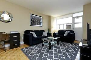 2 bedroom fully furnished with internet and cable included! WOW!