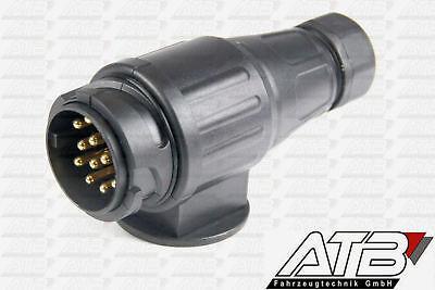 Stecker 13 poliger Kunststoffstecker Beleuchtung 12V für Anhängerstecker ()