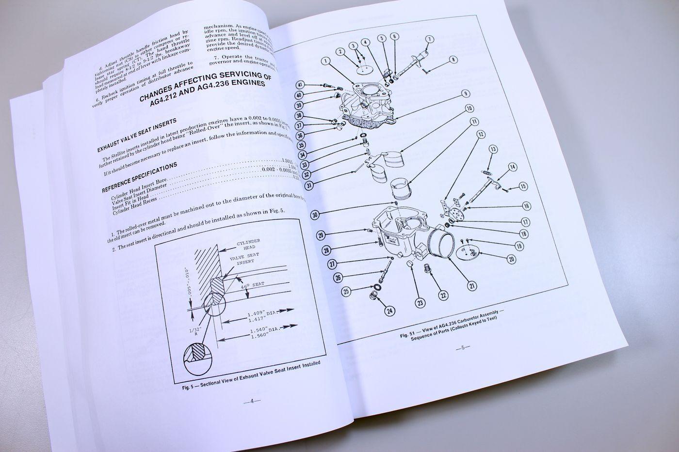 5 of 10 Massey Ferguson 180 Tractor Service Repair Shop Manual Technical  Workshop Mf180