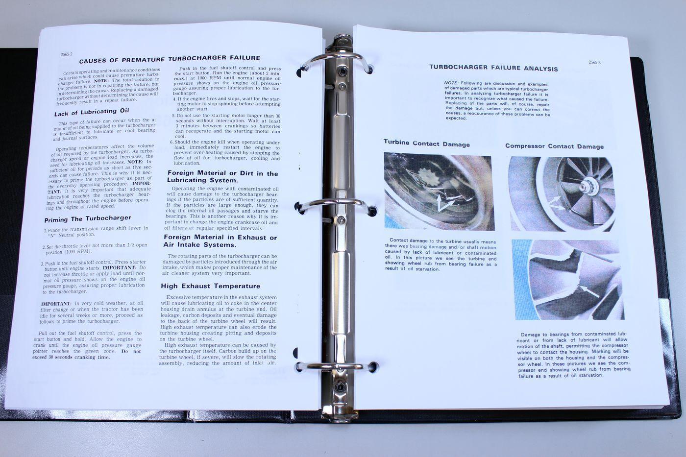 8 of 12 Case 688 Crawler Excavator Service Technical Manual Repair Shop  Book Overhaul