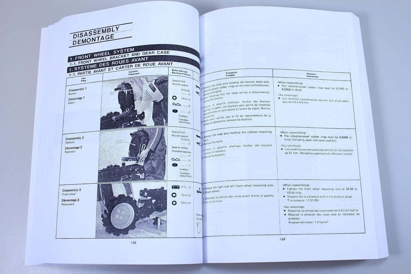 11 of 12 Kubota B5100 B6100 B7100 Tractor Service Repair Manual Shop Book  Overhaul