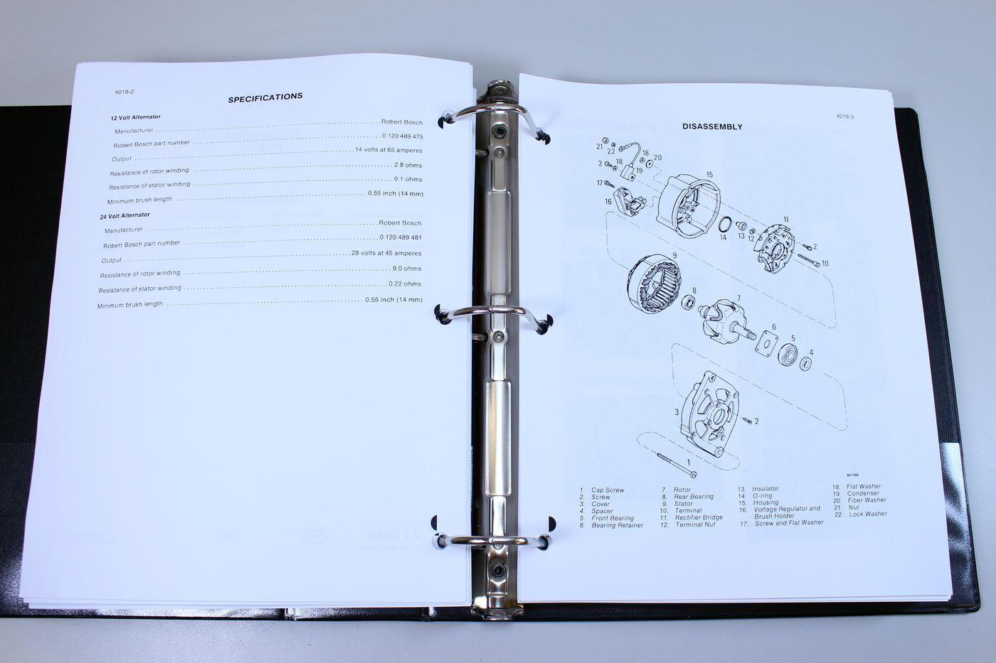 11 of 12 Case 688 Crawler Excavator Service Technical Manual Repair Shop  Book Overhaul