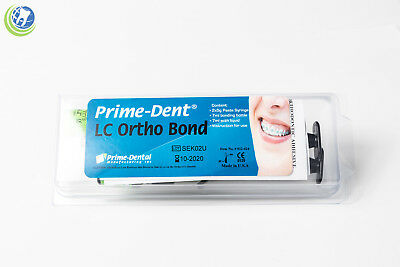 Prime-dent Dental Light Cure Orthodontic Resin Adhesive Lc Ortho Bond Paste Kit