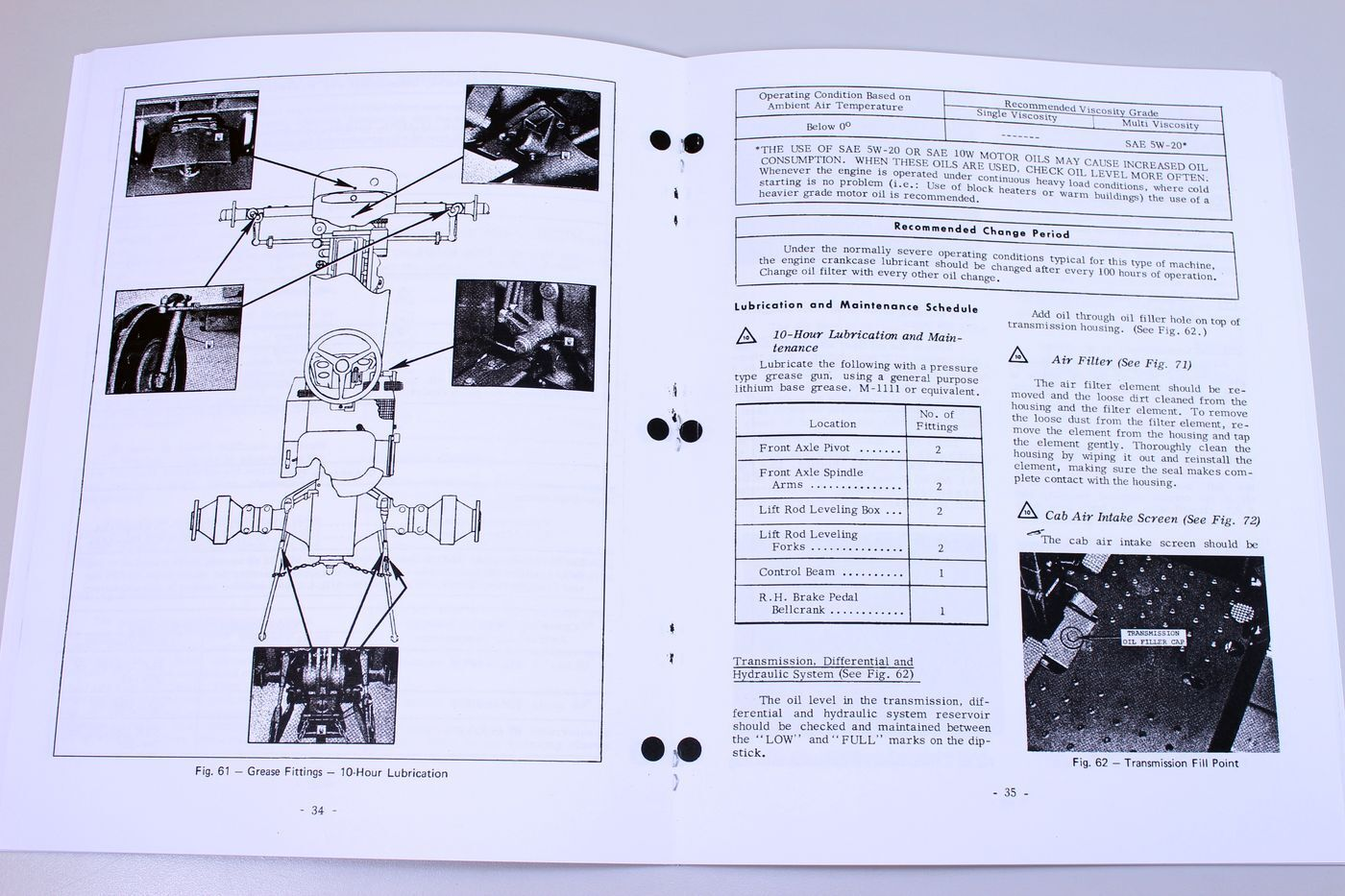 7 of 8 Massey Ferguson Mf 1080 Tractor Owners Operators Manual Maintenance  Operations 8 of 8 See More