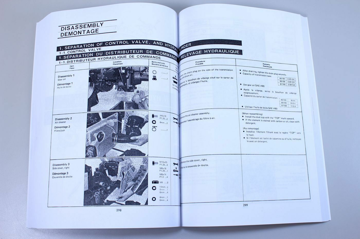 10 of 12 Kubota B5100 B6100 B7100 Tractor Service Repair Manual Shop Book  Overhaul