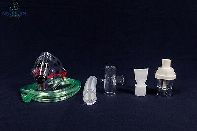 Child Pediatric Aerosol Nebulizer Mask W  Reusable Neb Kit For Asthma Copd